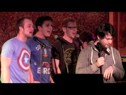 Alex Brightman with Max Chernin, Noah Zachary, Dan Housek -- New Comic Book Day