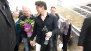 Morten Harket after the concert in Moscow 24.04.2012