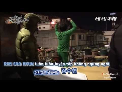 Vietsub Kim Soo Hyun's Movie 2013 Secretly Greatly - Behind the scenes