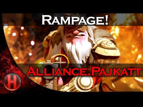 AlliancePajkatt Rampage vs Team Secret Dota 2