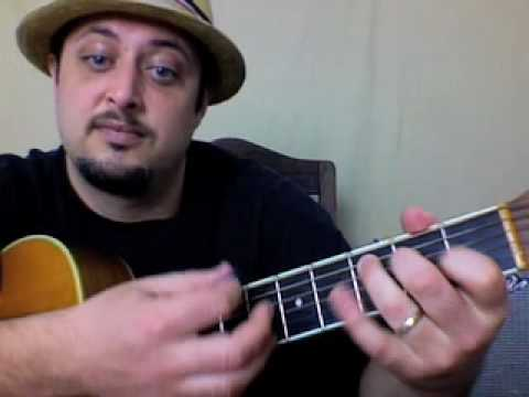 Bob Marley - No Woman No Cry - Easy Songs on Acoustic Guitar - Guitar Lessons