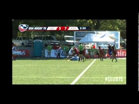 2014 Club 7s - Sacramento Amazons vs ICEF Rugby