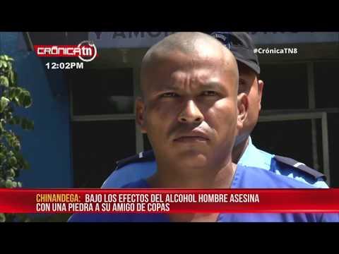 """Hombre mata bajo efectos del alcohol a """"amigo"""" de tragos en Chinandega - Nicaragua"""