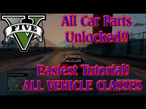 GTA 5-How to Unlock All Car Upgrades ONLINE Easily!