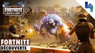 Fortnite : Découverte du mode Broyer la Horde [FR] HD 1080p