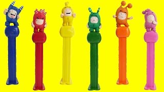 Odd bods pez dispenser candy