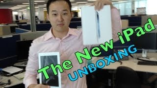 2012 New iPad Unboxing - 1st Look! vlog#3  Apple