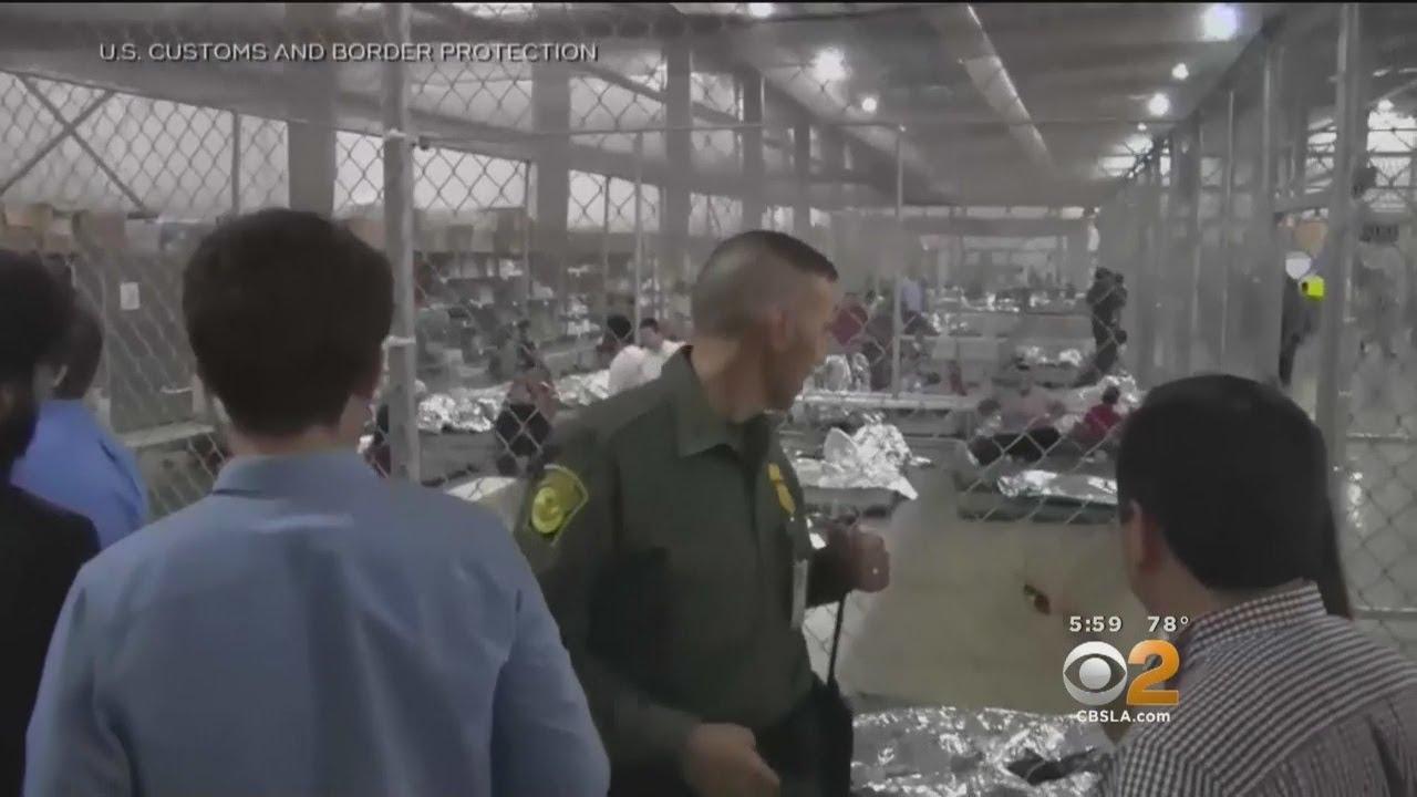 Migrant Children Held In LA