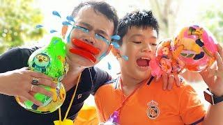 Đồ Chơi Hồ Lô Khổng Lồ ❤ ChiChi ToysReview TV ❤ Trò Chơi Trẻ Em Baby Doli Song