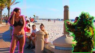 BUSHMAN PRANK AT THE BEACH