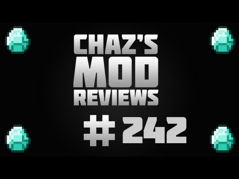 Chaz's Minecraft Mod Reviews - Digital Clock Mod! Place 2 Different Clocks On A Wall!