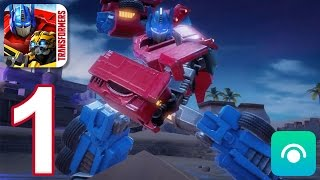 TRANSFORMERS: Forged to Fight - Gameplay Walkthrough Part 1 - Act 1 (iOS, Android)