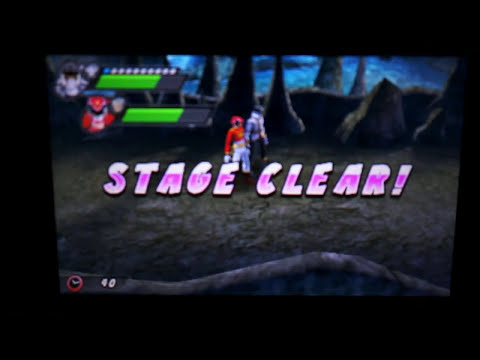Power Rangers Super Megaforce Nintendo 3DS - Boss Fights
