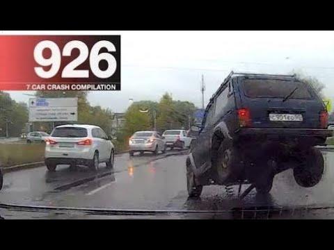 ★ Car Crash Compilation 926 - October 2017