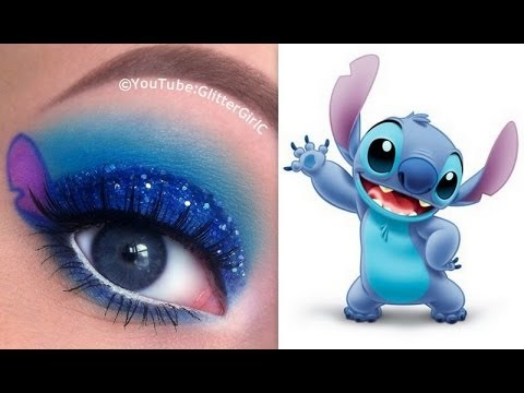 stitch makeup tutorial  disney's lilo and stitch  youtube