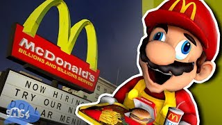 SMG4: Mario Works at Mcdonalds