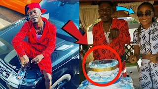 SHATTA WALE RECEIVES BEST GIFT ON HIS BIRTHDAY, AKUAPEM POLOO PULLS UP A BIG SURPRISE