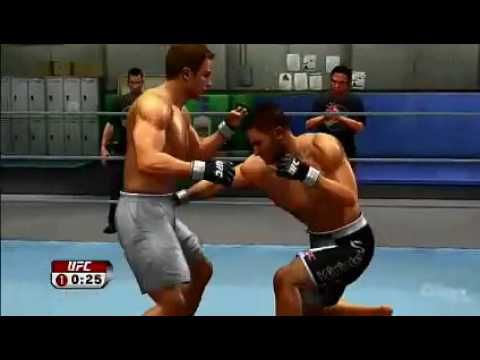 UFC Undisputed - Career Mode Sparring Video