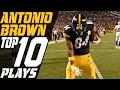 Lagu Antonio Brown's Top 10 Plays of the 2016 Season | NFL Highlights