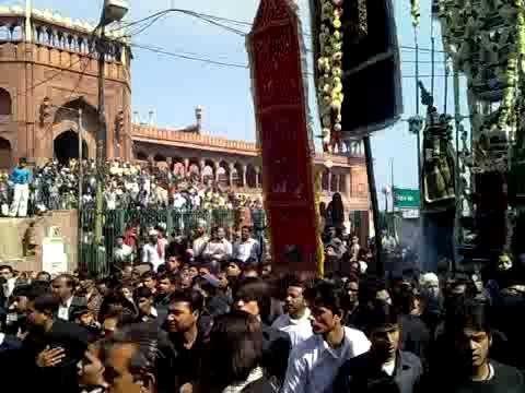 ???? Live Jalus-e-Aza | Famous Kala Tazia | Delhi 2019