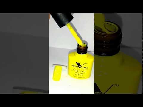 Venalisa (Canni) гель лак № 938 сочно-жёлтый.