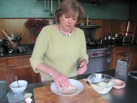 Cream Puff Potato Croquette