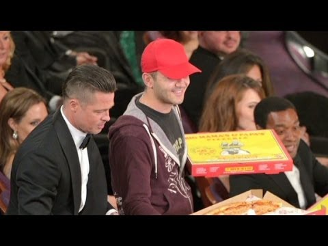 Oscar pizza deliverer: It was the American dream
