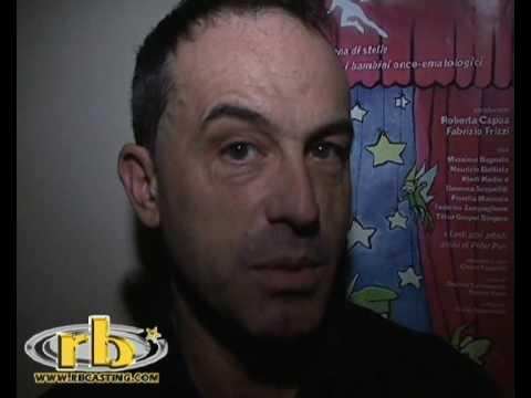 ANTONIO GIULIANI intervista (Merry Christmas Peter Pan) WWW.RBCASTING.COM