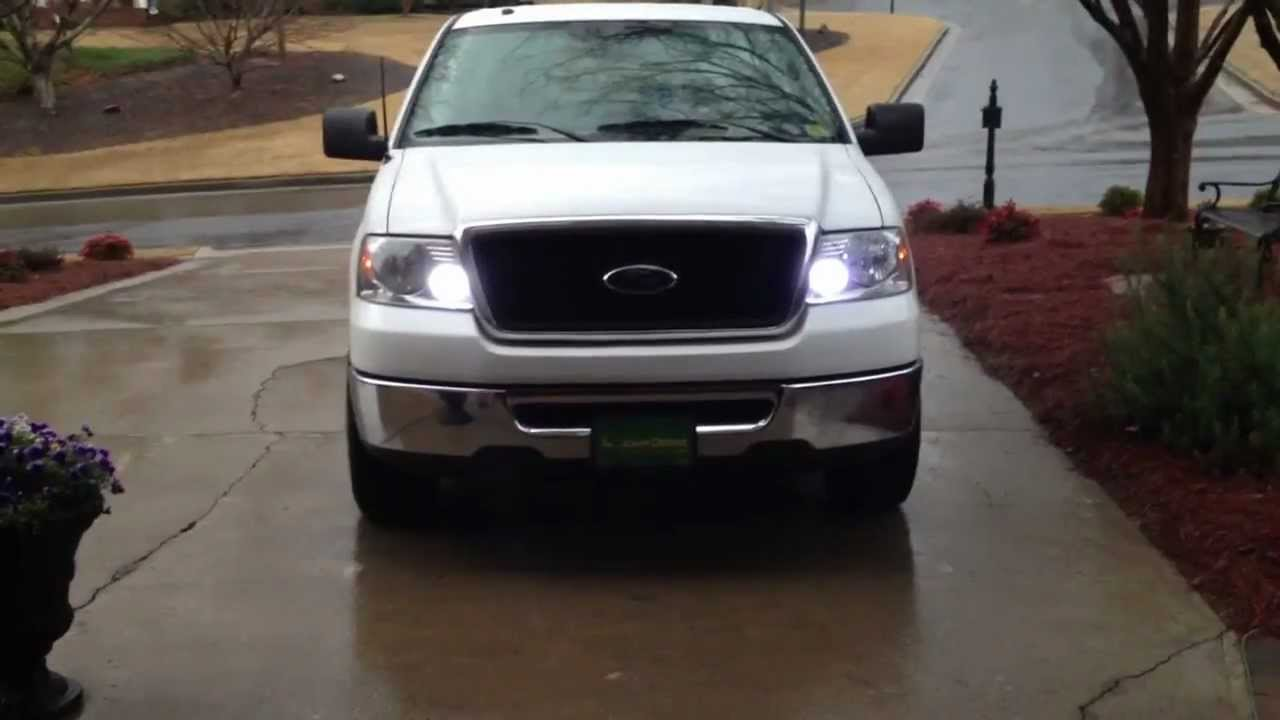 Led Turn Signal Ford F150 2006 Youtube