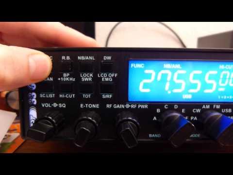 Citizen Band : Test du CRT SUPERSTAR 6900N