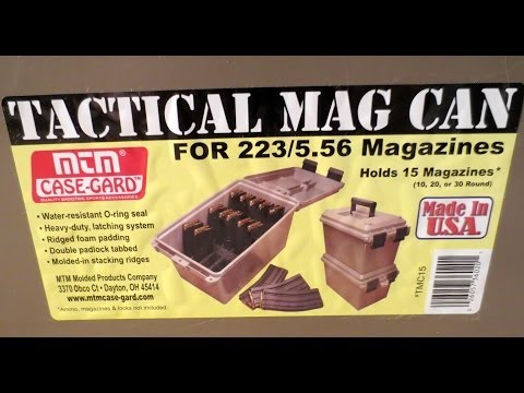 New For 2014: MTM Tactical Mag Can