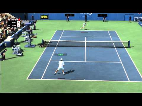 Andy Roddick vs. Andre Agassi