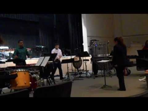 Freedom High School (Orlando) Percussion Ensemble Sacrificial Rite (05/18/13)