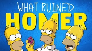 The Moment The Simpsons Ruined Homer Simpson