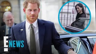 Prince Harry Joins Meghan Markle in Breaking Royal Tradition | E! News
