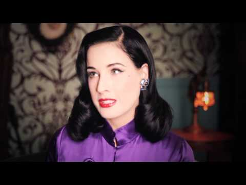 A message from Dita Von Teese to New Zealand