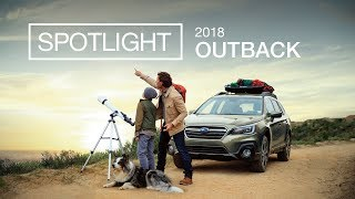 Updated 2018 Subaru Outback Spotlight | Explore Together