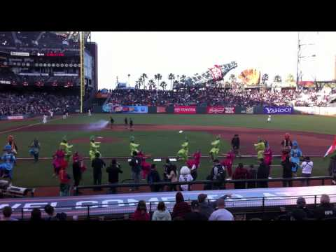 Bhangra Empire - San Francisco Giants Baseball Game - 2011 video