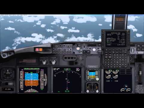 Tutorial Boeing 737 PMDG FSX Despegue y progamacion Descenso