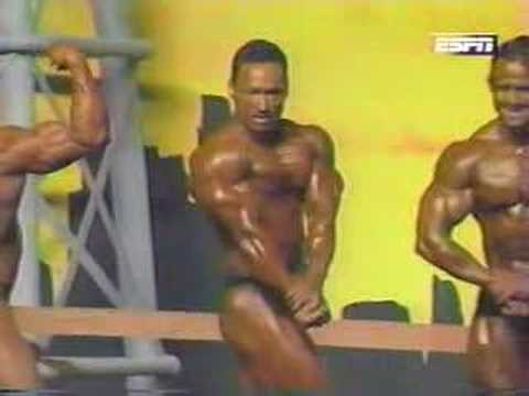 1996 Nationals Posedown and Overall - with Jay Cutler