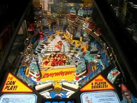 Baywatch Pinball Machine Video
