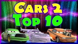 Cars 2 HD Gameplay Compilation 10 Races Featuring My Top 10 Favorite Cars + Stages