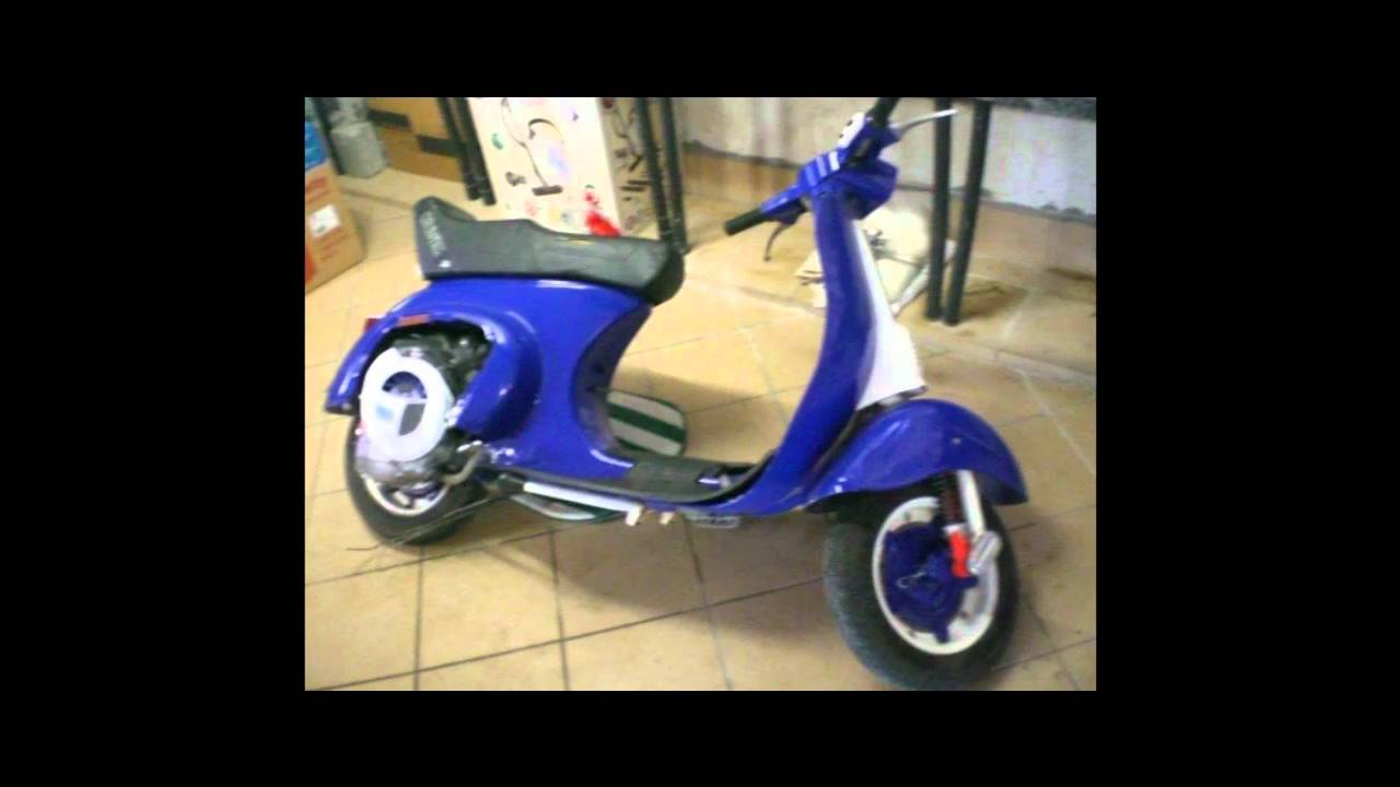 vespa special 50 tuning polini restaurazione youtube. Black Bedroom Furniture Sets. Home Design Ideas