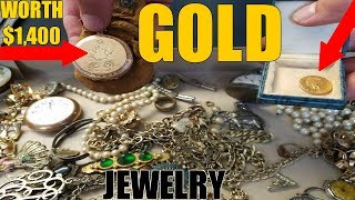 JEWELRY, GOLD, AND SILVER FOUND IN ABANDONED HOUSE! STRIKING IT RICH!