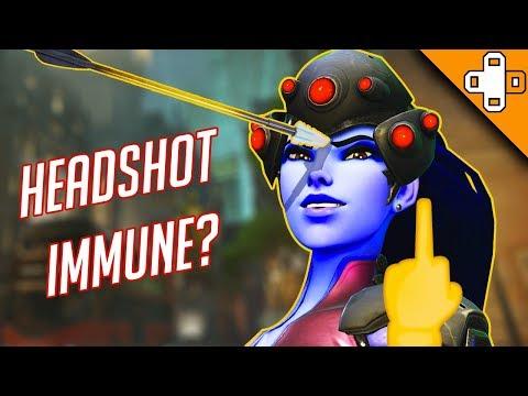 HEADSHOT IMMUNE? Overwatch Funny & Epic Moments 339
