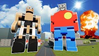 MEGA LEGO BOB VS CARPET NUKE! - Brick Rigs Gameplay - Lego City Toy Creations