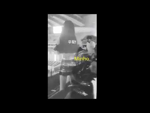 Minho & Seohyun moment (Taeyeon Insta)