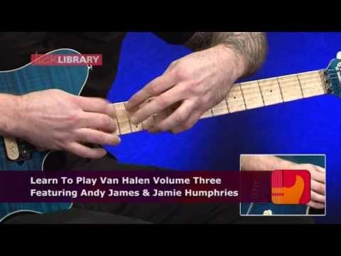 &#039;Learn To Play Van Halen Volume 3&#039; DVD with Andy James - LickLibrary