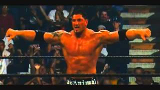 Batista vs Brock Lesnar   YouTube