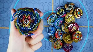 BRAVE VALKYRIE vs RUBBER BEYBLADES THE STRONGEST RUBBER BEY BEYBLADE BURST SUPERKING SPARKING